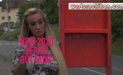 NEW SERIES NEVER SEEN BEFORE ! Stunning Blonde Teasing Men on Bus – Episode 1